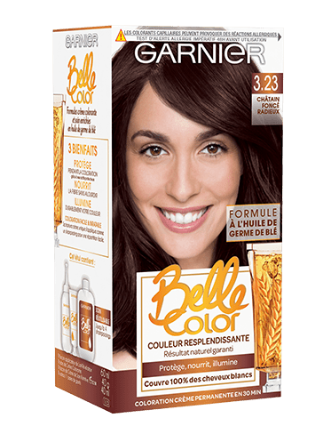 garniercolorationbellecolor323chatainfonceradieux