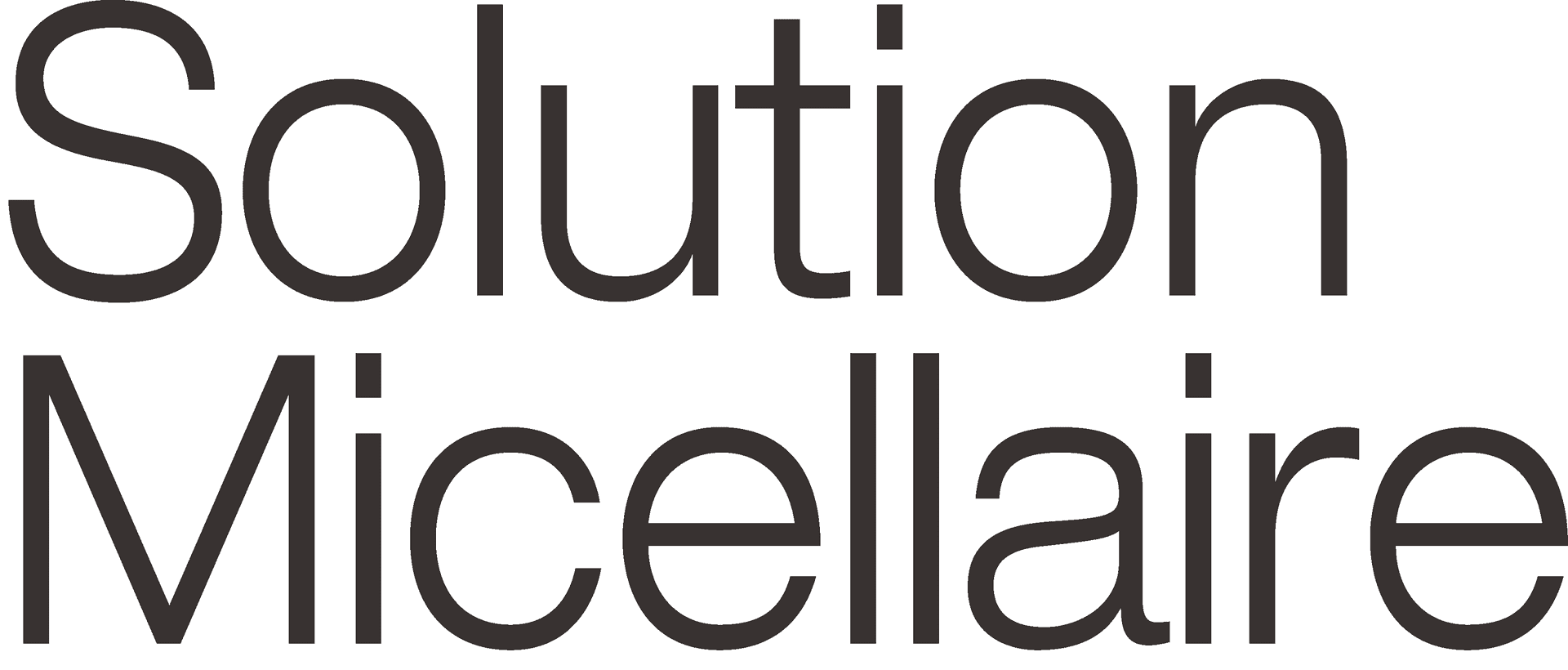solution micellaire